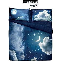 Completo Copripiumino MATRIMONIALE Bassetti immagine Home innovation Art. SWEET MOON