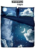 Completo Copripiumino MATRIMONIALE Bassetti immagine Home innovation Art. SWEET MOON