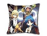 Lepilo Hot New Pillowcase Custom Pillowcase Magi The Kingdom of Magic Pillow Case 18x18 inch Two Sides