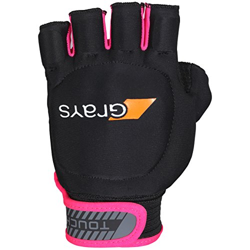 GRAYS Touch Left Handschuhe, Black/Fluo Pink, S