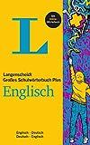 Langenscheidt Großes Schulwörterbuch Plus Englisch: Englisch-Deutsch/Deutsch-Englisch