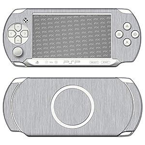 atFoliX Designfolie (Zubehör) – Struktur Skin Aufkleber kompatibel mit Sony PSP-E1000 / E1004