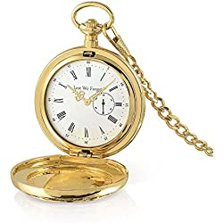 Officially Endorsed By The Lest We Forget Association, 100th Anniversary WWI Centenary Pocket Watch with Quartz Movement Exclusively Available From The Bradford Exchange