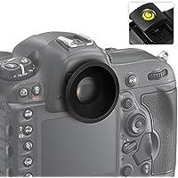 First2savvv DSLR Conchiglia Oculare Mirino Ottico per per Canon EOS 1300D 100D 1200D 1100D 1000D 550D 500D 450D DSLR Camera + gradienter - QJQ-OX-P-EF-AP01G15