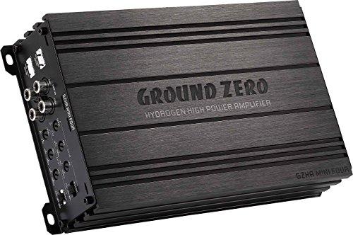 Ground Zero GZHA Mini Four Amplificateur 4 canaux classe AB
