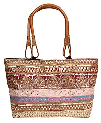 ACE Womens Tote Bag (Multi-Coloured, ACE083)