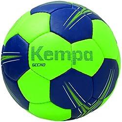 Kempa Gecko Balón de Juego y Entrenamiento, Verde (Flash) / (Azul Deep), 2