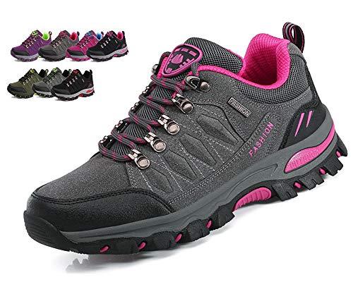 DADAZE Wanderschuhe Herren Wasserdichte Damen Wanderstiefel Atmungsaktiv Turnschuhe Sportlich Bequem Outdoor Walking Wandern Trekking Anti-Rutsch Schuhe für Unisex