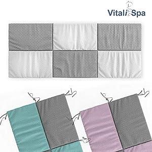 VitaliSpa Hausbett Kinderbett Bettrückwand Wiki in den Varianten: 140×70 // 160×72 // 200X85 cm erhältlich in: Rosa-Grau…