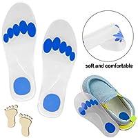 Silikon-Gel-Einlegesohle für Kinder, Fußgewölbe, volle Länge, orthopädische Einlagen, Fußpronation, Stoßdämpfung... preisvergleich bei billige-tabletten.eu