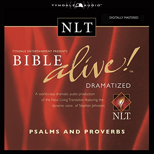 Bible Alive! NLT Psalms and Proverbs (Audio Bible-nlt)