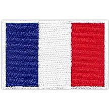 Parche Parches plancha de planchar Iron on), diseño bandera de Francia France