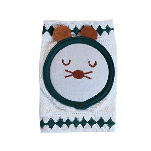 Haokaini 1 par de Almohadillas de Rodillas para Bebés Protector de Rodillas para Bebés Calentador de Piernas Alfombra de… 1