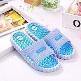 Nwarmsouth Zapatillas de Masaje para Mujer, Zapatillas de casa para Mujer, Sandalias Antideslizantes para Interiores de baño para Hombres, Azul Cielo_40-41, Zapatillas sin Cordones para Mujer/Hombre