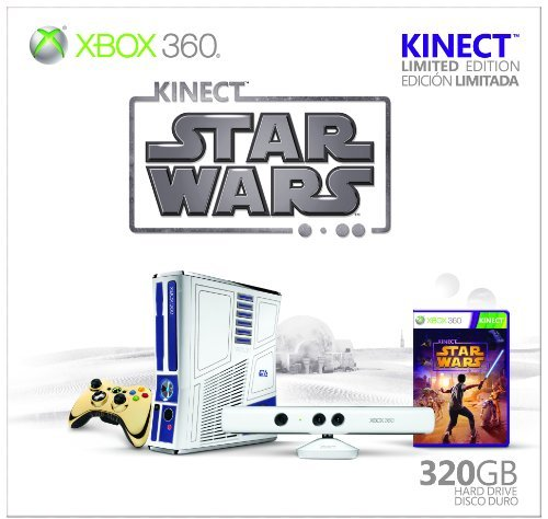 Xbox 360 Limited Edition Kinect Star Wars Bundle by Microsoft