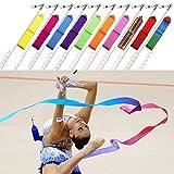 Trimming Shop Rubans Serpentins de gymnastique danse rythmique Tige Baton ruban...