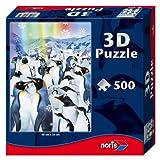 Noris Spiele 606031085 - Pinguine 3D Puzzle, 500 Teile