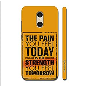 Enthopia Designer Hardshell Case Pain Gives Strength Back Cover for Xiaomi Redmi Pro
