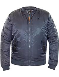 New Men's Kangol Summer MA1 Bomber Jacket Water Repellent Short Parka Padded Coat