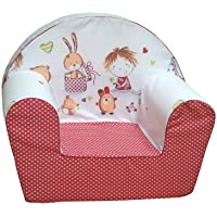 knorr-baby 490166 Kinder-Sessel Spielzimmer, rot (sortiert) preisvergleich bei kinderzimmerdekopreise.eu