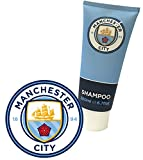Manchester City FC Shampoo - Official Licensed Product. New Manchester City Merchandise with Latest 2016 Crest. 200ml Sports Shampoo with revitilising fragrance.