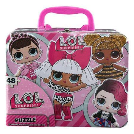 L.o.l. Surprise Collector's Tin Puzzle 48 Pcs (Happy Tin) (Mix-outfits Little)