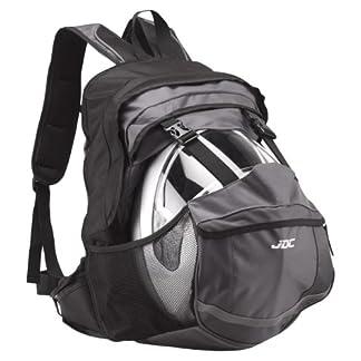 JDC – Mochila para Moto (Impermeable, con Compartimento para el Casco, 24-36 l)