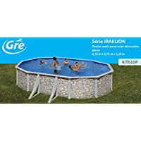 San Marina Pools - Piscina De Chapa Iraklion 610 X 375 X 120 Cm + Depuradora De Arena