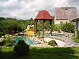 PVC Teichfolie 8 x 10 m Blau ( türkis ) Gartenteichfolie Folie Teich Schwimmteich 6,99 Euro / m²