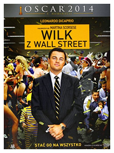 Wilk z Wall Street / The Wolf of Wall Street [DVD + Booklet] [PL Import]