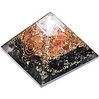 Black tourmaline + Carnelian + Selenite Orgonite Pyramid 3-3.5 inch Chakra & Reiki Healing Aura Cleansing Crystal. preisvergleich bei billige-tabletten.eu