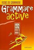 Image de Grammaire activité : fiches de grammaire, élève