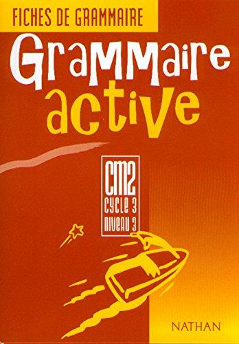 Grammaire activité : fiches de grammaire, élève