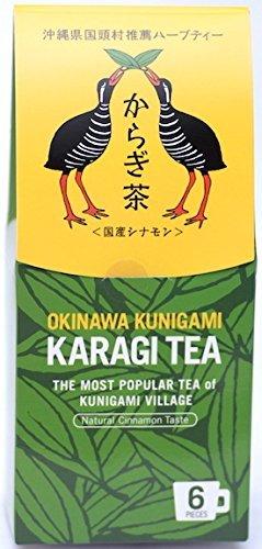 Karagi bustina di t? t? 1 scatola (6 borse pezzi) produzione Prefettura di Okinawa Kunigami