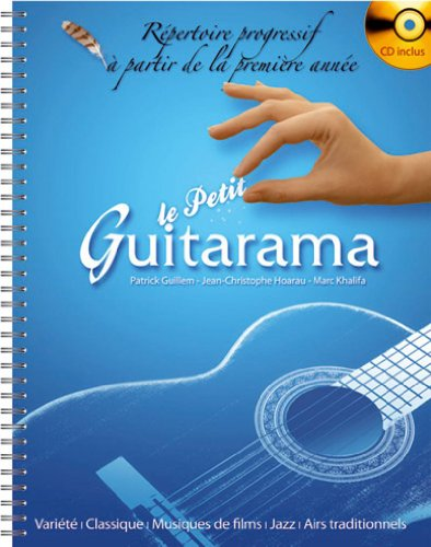 Partition classique HIT DIFFUSION LE PETIT GUITARAMA + CD Guitare