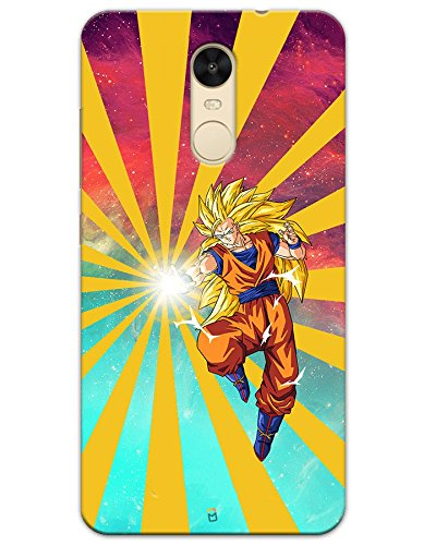 Dragon Ball Z Goku Raging Blast case for Xiaomi Redmi Note 4  available at amazon for Rs.499