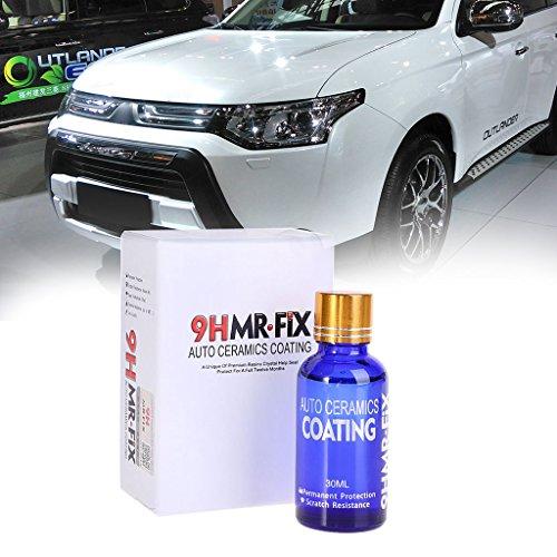 30 ml 9HMR FIX Beschichtung Autolack Anti-Kratzer Glas Autopolitur Flüssige Keramikbeschichtung