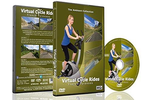Virtuelle Fahrradstrecken - Französische Pyrenäen - Für