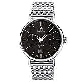 Dugena Herren-Armbanduhr FESTA Kalender Automatik Analog Automatik Edelstahl 7090332