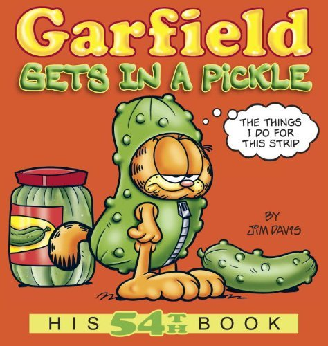Garfield Gets in a Pickle (Garfield New Collection) by Jim Davis (20-Sep-2012) Paperback