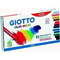 Giotto 293000 - Pack de 12 pásteles al óleo