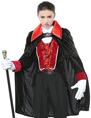 Widmann–Vampir Viktorianischer Boys, 128cm/5–7Jahren, -