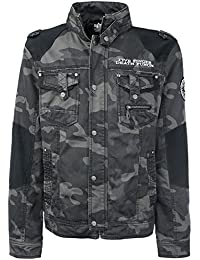 Five Finger Death Punch Knucklehead Chaqueta Camuflage oscuro