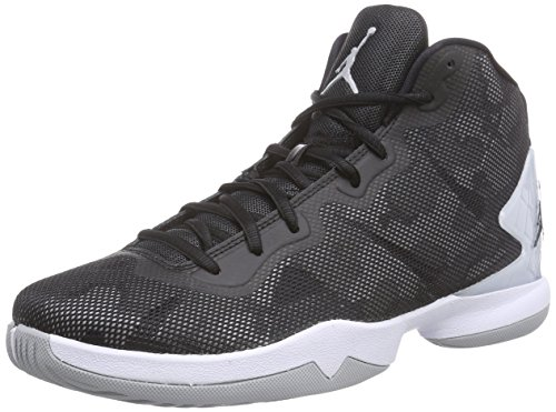 Nike Jordan Super.Fly 4, Chaussures de Sport Homme Gris - (Wolf Grey/Cool Grey-Black-Infrared 23)