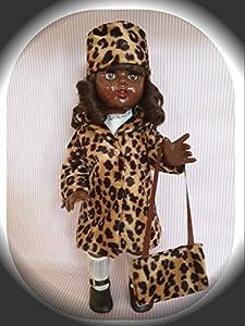Mariquita Pérez Negrita Conj.Abrigo Leopardo Muñeca, Color Carne (Comercial de Juguetes Maripe SL 1)