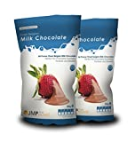 Milk Fondue Belgian Chocolate 2 x 900g for Baking
