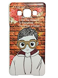 Piloda Imported Designer Goggles Printed Back Cover For SAMSUNG GALAXY A5