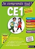 Telecharger Livres Je comprends tout Tout en un CE1 Nouveau programme 2016 (PDF,EPUB,MOBI) gratuits en Francaise