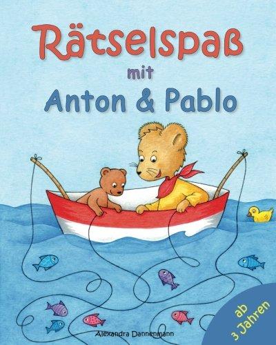 Rätselspaß mit Anton und Pablo. Rätseln, Suchen, Vergleichen und Zählen.