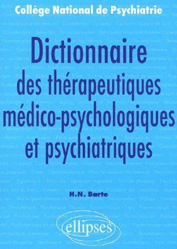 Dictionnaire des thérapeutiques medico-...